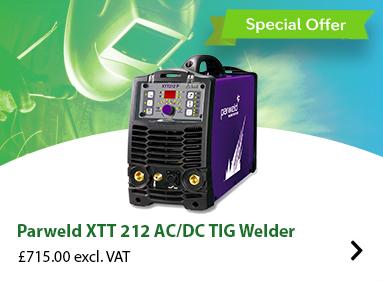 Parweld XTT 212 AC/DC TIG Welder