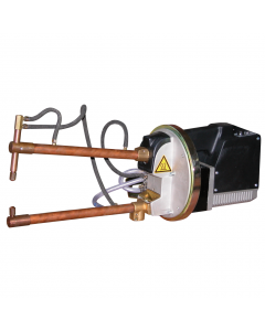 This product is a spot welder by Tecna. This auto body spot welder has a rating of 6kVA.  Tecna portable spot welder(s) are lightweight professional. Tecna's automotive spot welder is available in 400V. There is a large choice of  Tecna spot welder arms a