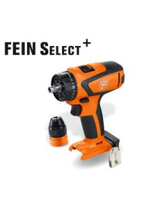 This is a Cordless Drill/Driver from Fein. Also know as the Fein ASCM 12 Q Select. All HSS Drill Bits fit this machine.