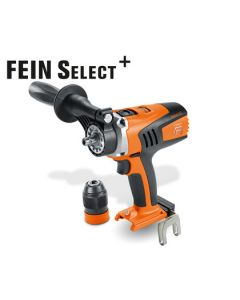 Look here at this Cordless Drill/Driver from Fein. Also know as the Fein ASCM 18 QM Select. All HSS Drill Bits fit this machine.