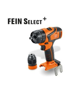 Look at this Cordless Drill/Driver from Fein. Also know as the Fein ASB 18 Q Select. All HSS Drill Bits fit this machine.