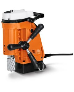 Here you find a Mag drill from fein. This JEI Mag Drill is also known as the JEI Minibeast.All Rotabroach and Magdrill HSS Cutters and Mag Drill Bits fit this machine.