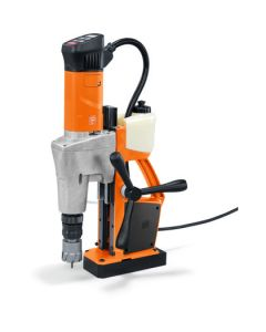 Look here at this Mag Drill from Fein. Also known as the fein KBM 50 U. All Rotabroach and Magdrill HSS Cutters and Mag Drill Bits fit this machine.