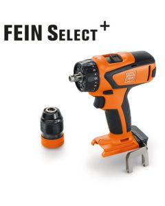 Here you see a Cordless Drill/Driver from Fein. Also know as the Fein ASCM 18 QSW Select. All HSS Drill Bits fit this machine.