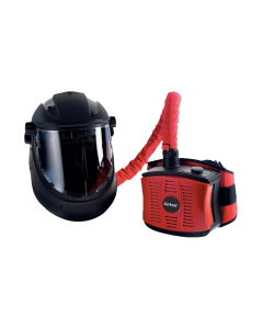 This Airfed system meets government requirements for Full Face Protection for Medical, Care Homes and Police Support needs. This system is classified as FFP3 and provides a 20-points protection factor unlike an FFP2 disposable mask that offers 10-points