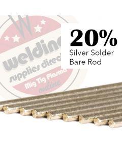 20% Silver Solder 1.5mm x 500mm