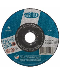 "Tyrolit 5"" (125MM) x 1MM 1 Star Cutting Disc"