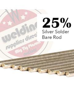 25% Silver Solder 1.5mm x 500mm