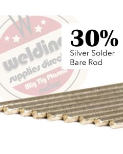 30% Silver Solder 1.5mm x 500mm