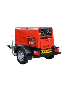 Shindaiwa ECO 420 Diesel Welder Generator - Skid Mounted