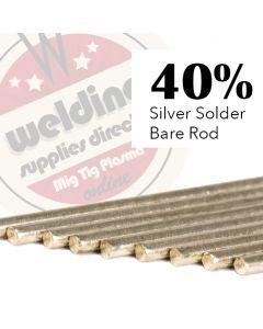 40% Silver Solder 1.5mm x 500mm