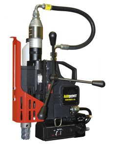 Here you see a Mag Drill from JEI. This JEI Mag Drill is also known as the JEI AIRFORCE 45. All Rotabroach and Magdrill HSS Cutters and Mag Drill Bits fit this machine.