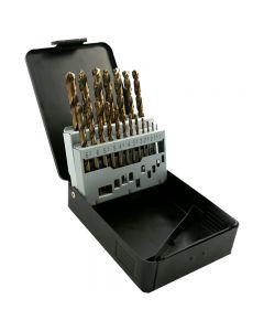 Abracs Cobalt Drill Bit Kit - 19 Piece