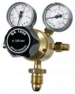 Victor High Pressure Single Stage Dual Gauge Fuel Gas Regulator 105 BAR - Top Entry