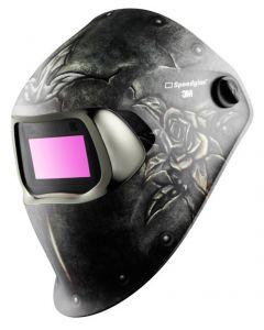 3M Speedglas 100 Welding Helmet 3/8-12 Women's Collection Steel Rose