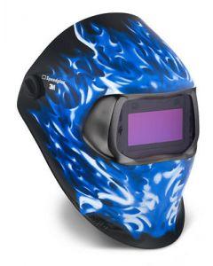 3M Speedglas 100 Welding Helmet 3/8-12 Ice Hot