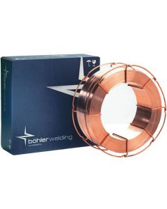 This is an image of a Bohler Ti 52 T-FD Flux Cored MIG Wire