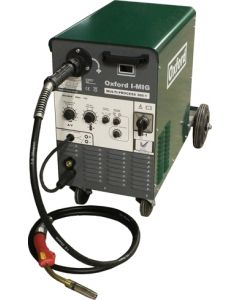 Oxford Multi-Arc 330E Compact Mutli Process MIG Welder - Dual Voltage 230V / 400V with MB36 Binzel torch and gas regulator