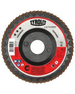 "Tyrolit 4 1/2"" (115MM) Cerabond Premium Flap Disc"