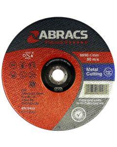 ABRACS 125MM X 1.0MM X 22MM PHOENIX EXTRA THIN CUTTING DISC
