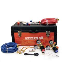 This is an image of a This is an image of a Toolbox Cutting & Welding Heavy Duty Kit - Oxygen/ Acetylene