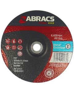 PROFLEX 115MM X 6MM X 22MM DPC METAL GRINDING DISC