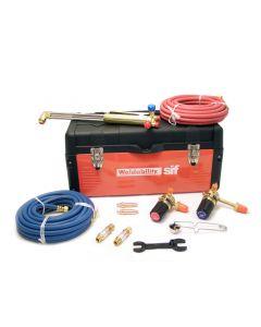 This is an image of a This is an image of a Toolbox Cutting & Welding Heavy Duty Kit - Oxygen/ Propane