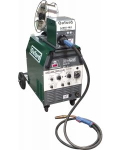 Oxford S-MIG 330 Double Pulse Separate Wire Feed MIG Welder - Dual Voltage 230V / 400V with MB36 Binzel torch and gas regulator