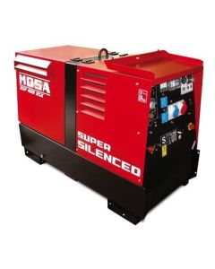 Mosa DSP 400 YSX CC/CV Multi Process Water Cooled 400A Diesel Generator Welder