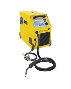 GYS Smartmig 142 MIG Welding Machine with welding torch and earth lead