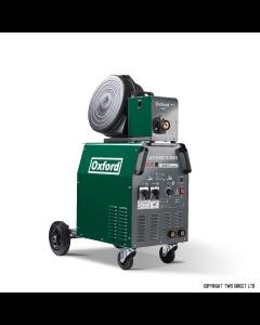 Oxford S-MIG 410-1 MIG Welder with MB36 Binzel torch and gas regulator