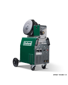 Oxford Separate Wire Feed S-MIG 410-3 MIG Welder - 3 Phase with MB36 Binzel torch and gas regulator