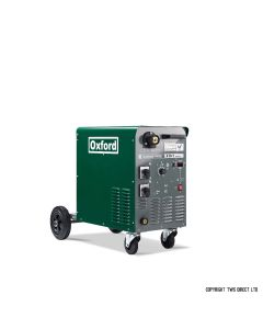 Oxford I-MIG Single Phase Compact 360-1 MIG Welder with MB36 Binzel torch and gas regulator