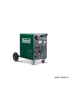 Oxford Single Phase Compact Migmaker 240-1 MIG Welder with MB25 Binzel torch and gas regulator