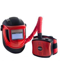 Navitek Red S4 Air Fed Auto Darkening Welding Helmet