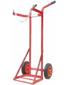 Large Portable Oxy / Acetylene Cylinder Trolley