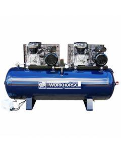 FIAC Workhorse Belt Drive 2 X 4HP 250 Ltr 230V Tandem Air Compressor - Premier Finance