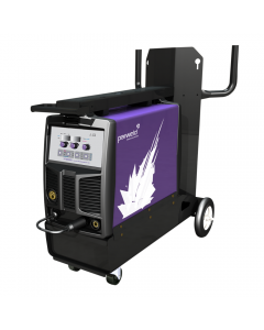 Parweld XTM 252I Synergic MIG Welder with torch and gas regulator