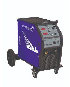 Parweld XTM 304C MIG Welding Machine with torch and gas regulator
