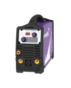 Parweld XTT 207 DV TIG Welding machine with torch, earth clamp and gas regulator