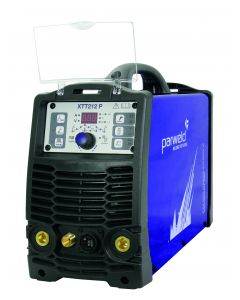 Parweld XTT 212 AC/DC with torch, earth clamp and gas regulator