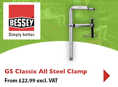 Click to buy the Bessey GS Classix all steel clamp