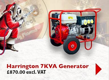Harrington 7KVA Generator