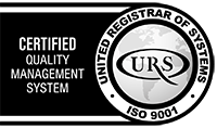 We are an ISO 9001 Registered Company