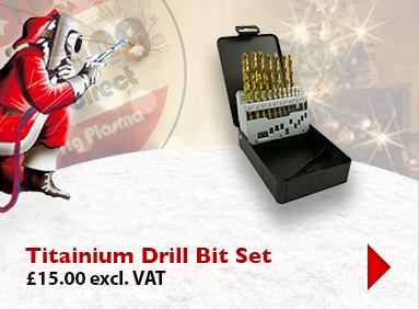 Titanium Drill Bit Kit