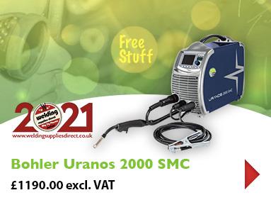 Bohler Uranos 2000 SMC MIG Welder